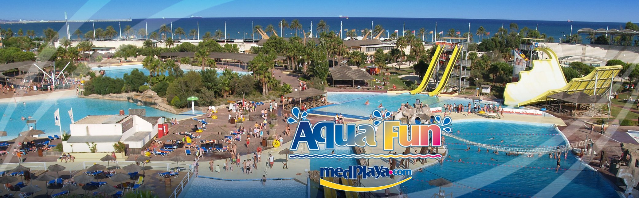 AQUAFUN + HOTEL CALYPSO - waterpark entrance and transport included